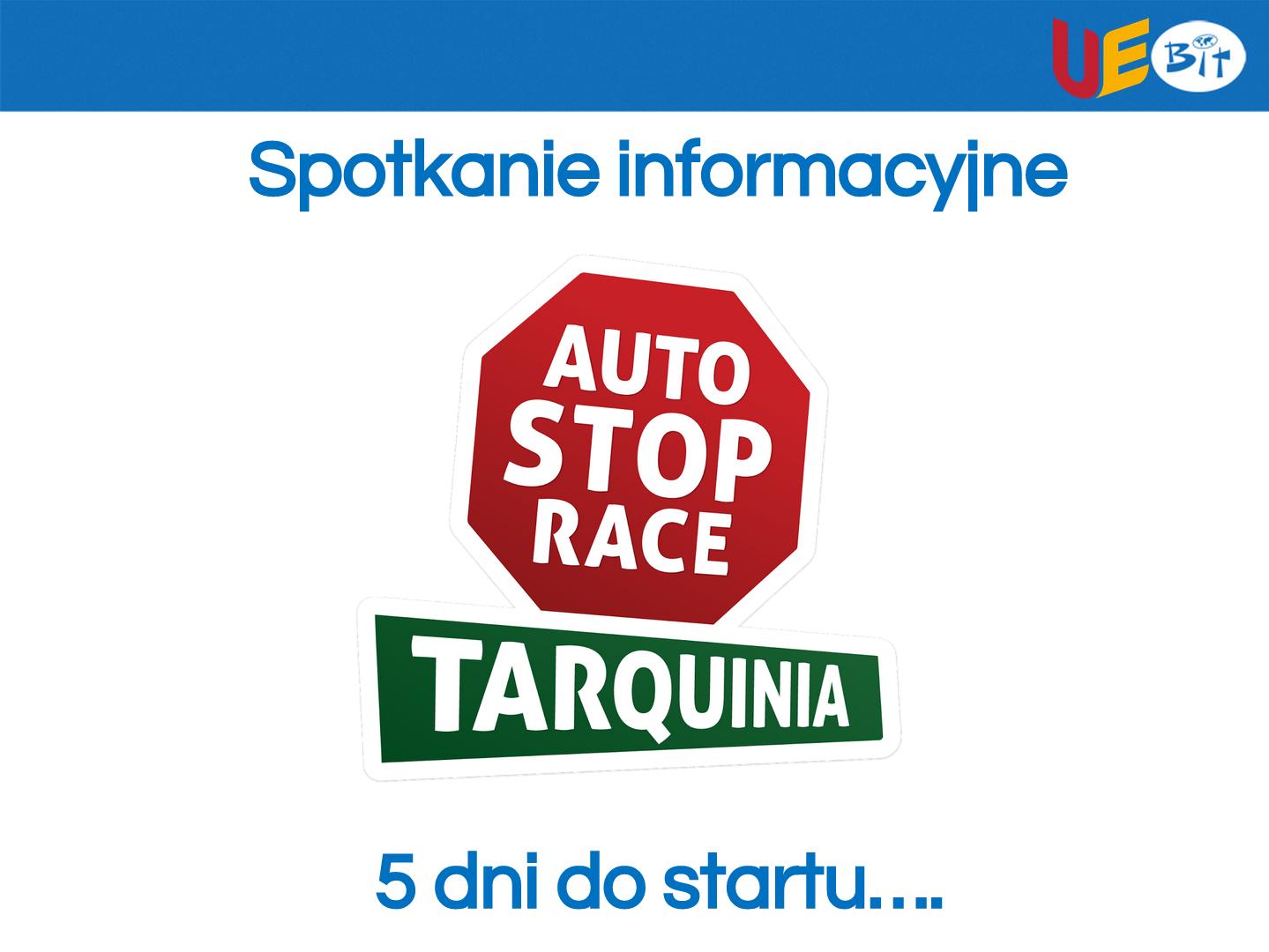 Prezentacja ze spotkania informacyjnego Auto Stop Race 2016